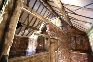 The interior of the Malthouse