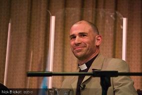 Canon Pete Wilcox. Pic: Nick Brickett