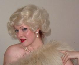 Ruth Harvey as Marilyn Monroe