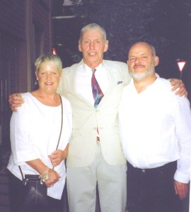 Richard and Janet Harwood with Georgie Fame