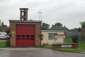 Barton-under-Needwood Fire Station. Pic: Kevin Hale