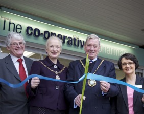 John Boot, Diana Spruce, Cllr Christopher Spruce and Sian Byrne