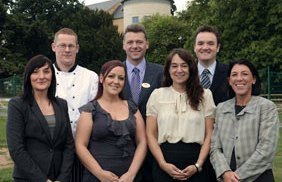 The new Drayton Manor Hotel senior management team
