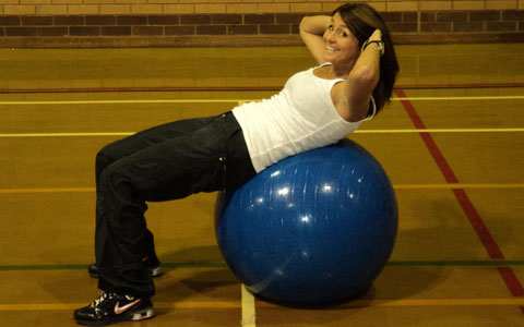Siobhan Durose tries Fitball