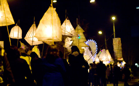 The Burntwood Christmas Lantern Parade