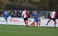 Dean Perrow scores for Chasetown. Pic: Dave Birt