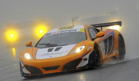 The Lapidus McLaren GT3 at Spa