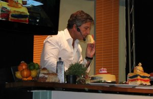 John Torode on stage at the Lichfield Food Festival