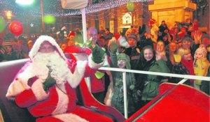 The Lichfield Round Table Santa tableau