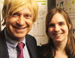 Michael Fabricant MP with Charlotte Houldcroft