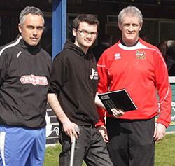 Craig Harris, Stephen Sutton and Ian Whitehorne