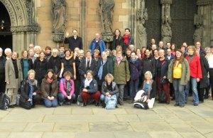 The Lutheran church choir from Hamburg