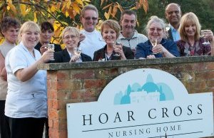 Hoar Cross Nursing Home celebrates its 25th anniversary
