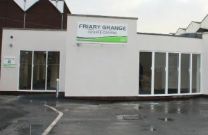 The new entrance to Friary Grange Leisure Centre