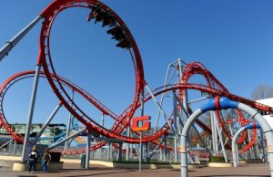 The G-Force ride at Drayton Manor Theme Park. Pic: Sam Bagnall
