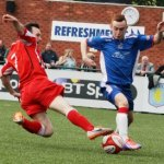Jonathan Gould on the ball. Pic: Dave Birt