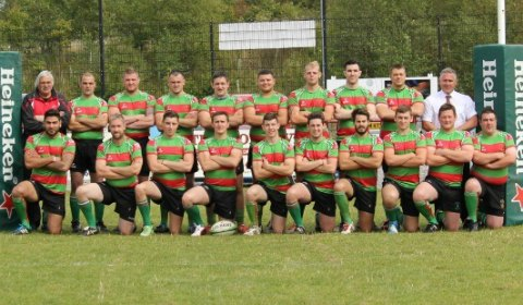 Burntwood Rugby Club's first team