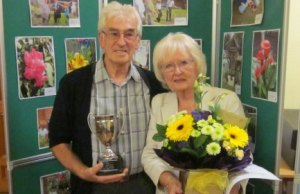 Winners Judy and Brian Littler