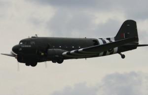 A Royal Air Force Dakota. Pic: Andrew Thomas