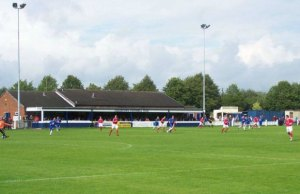 Chasetown FC's Scholars Ground home. Pic: Geoff Pick