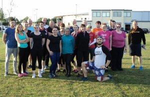 The Burntwood bootcamp fitness group