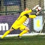 John Bateman pulls off a save. Pic: Dave Birt