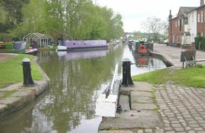 The canal at Fradley Junction. Pic: Martin Clark