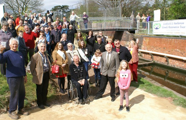 The opening of the Towpath Trail in 2014