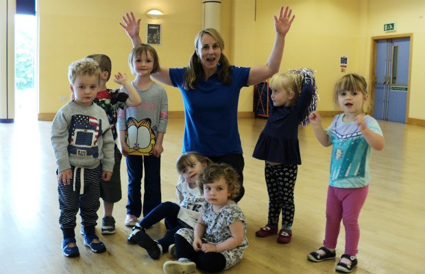 A Mini Mambos session at Burntwood Leisure Centre