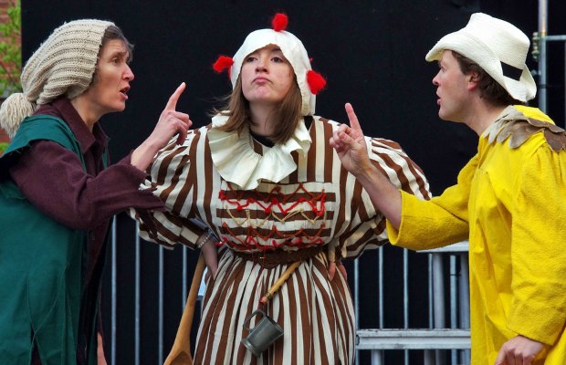 The 2012 production of The Shepherds presented by Ironbridge Players