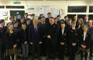 Michael Fabricant MP meets air cadets in Lichfield