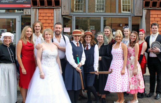 Local Theatre Day celebrations at the Lichfield Garrick