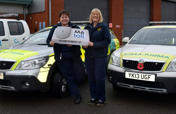 Rachel Baron and Andrea Richards of Burntwood and District Community First Responders