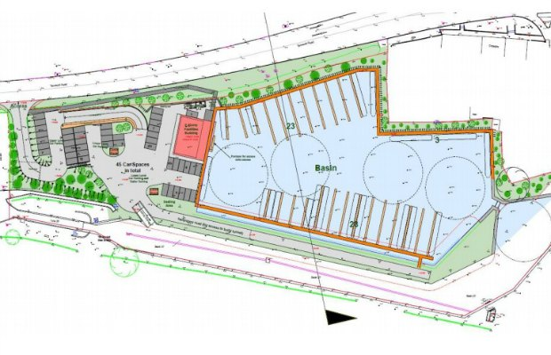 Plans for the new canal activity centre