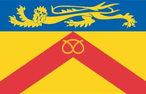 The flag design proposed by Staffordshire County Council