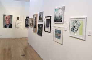 Work on display at Shire Hall Gallery