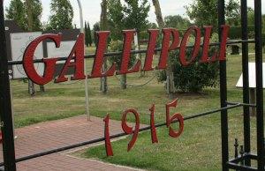 The Gallipoli Memorial at the National Memorial Arboretum