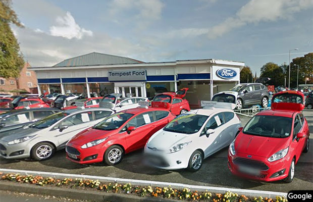 The former Tempest Ford dealership. Pic: Google