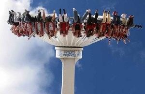 The Maelstrom ride at Drayton Manor Park