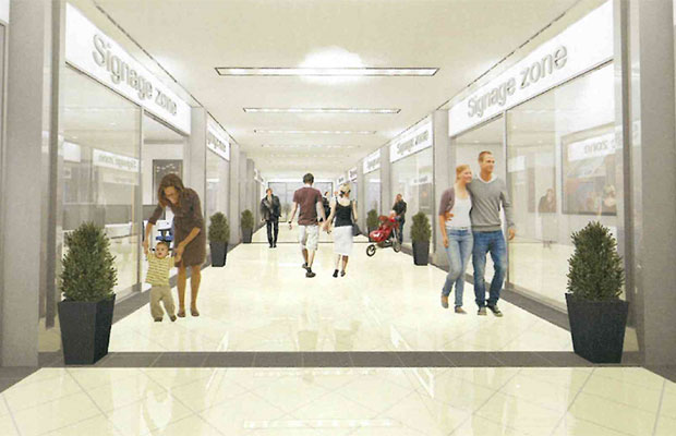 An artist's impression of the new-look City Arcade. Pic: Pergola