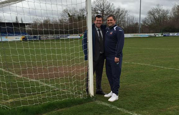 Darren Middleton and Gary Birch who will run the new Lichfield City FC Academy