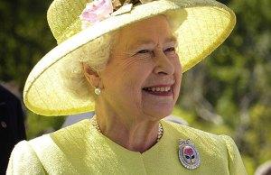 The Queen. Pic: NASA