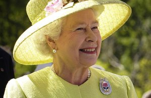The Queen. Pic: NASA