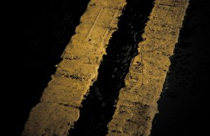 Yellow lines. Pic: William Butler