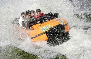The StormForce 10 ride at Drayton Manor