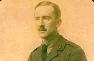 JRR Tolkien during his time as a soldier