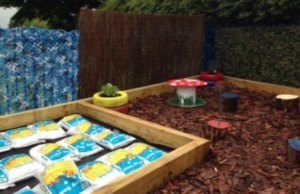 The new sensory garden at Spark Burntwood