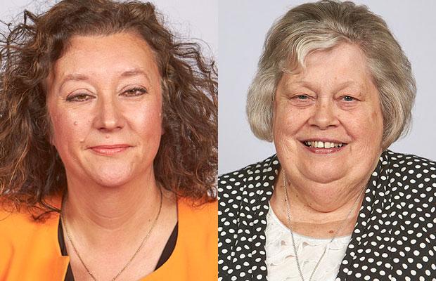 Cllr Helen Fisher and Cllr Diane Evans