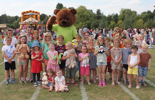 The Teddy Bear Games in Beacon Park