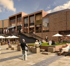 An artist's impression of the new Friarsgate development